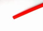 Krimpkous 10,0mm Rood, lengte 500mm