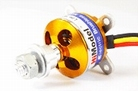 1400KV HiModel Brushless outrunner inc. prop adapter