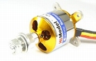 1250KV 2-3S HiModel Brushless outrunner inc. prop adapter