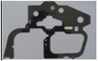 Carbon main frame L-side A50V009
