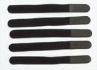Klittenband 20CM x 2CM zwart (per stuk)