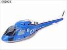 Fuselage set (blue) 002823