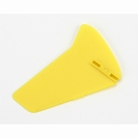 Vertical Fin, Yellow without Decals: BMCX - EFLH2228Y