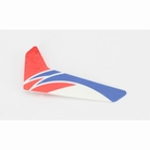 Red Vertical Fin with Decal: mCPX - BLH3520R