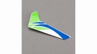Green Vertical Fin with Decal: mCPX - BLH3520G
