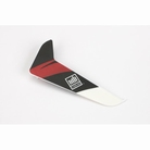 Vertical Fin with Red Decal: 120SR - BLH3120R