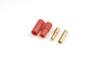 3.5mm goudstekker met plastiek behuizing (4pcs)