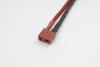 Deans goudstekker, Vrouw., silicone kabel 14AWG, 10cm (1st)