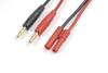 Laadkabel 4.0mm goudstekker, silicone kabel 14AWG (1st)