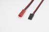 Conversie kabel BEC Man. > JR/HITEC Man., silicone kabel 20A