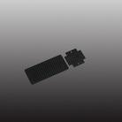 Battery Mount Carbon KDS-1139-SD