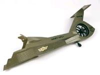 ek1-0595 Comanche Rear Fuselage Green 000422