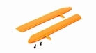 Fast Flight Main Rotor Blade Set, Orange: 130 X - BLH3715OR