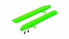 Fast Flight Main Rotor Blade Set, Green: 130 X - BLH3715GR