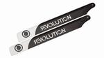 245mm FBL Carbon Fiber Rotor Blades Revolution RVOB024550