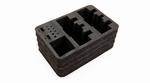 Stand Up TX case optional dual TX foam set Spektrum -SPM6712