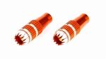 Gimbal Stick Ends, 24mm, Orange:DX6i, DX7s, DX8, DX9, DX18QQ