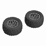 DBOOTS 'SAND SCORPION MT 6S' TYRE SET GLUED (Black) 2stuk