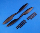 10 x 45 Propeller Set - Zwart